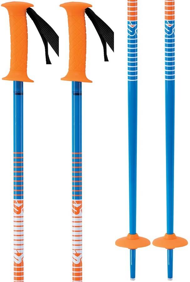 K2 Decoy Kid's Ski Poles, 95cm Orange