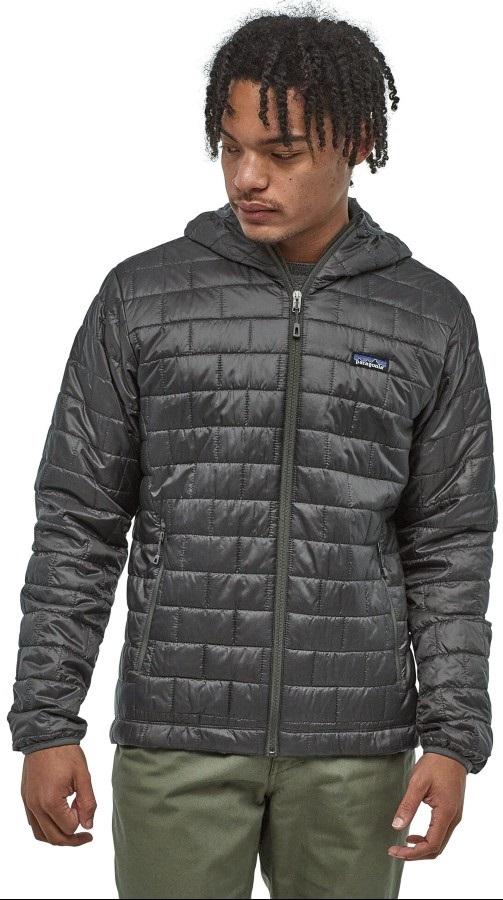 Patagonia Nano Puff Hoody Insulated Jacket XL Forge Grey