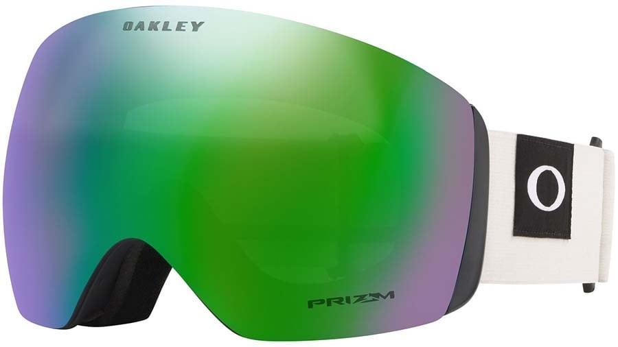 Oakley Flight Deck Prizm Jade Ski/Snowboard Goggles, L Darkbrush Grey