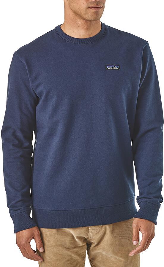 Patagonia P-6 Label Uprisal Men's Crew Sweatshirt, XXL Classic Navy
