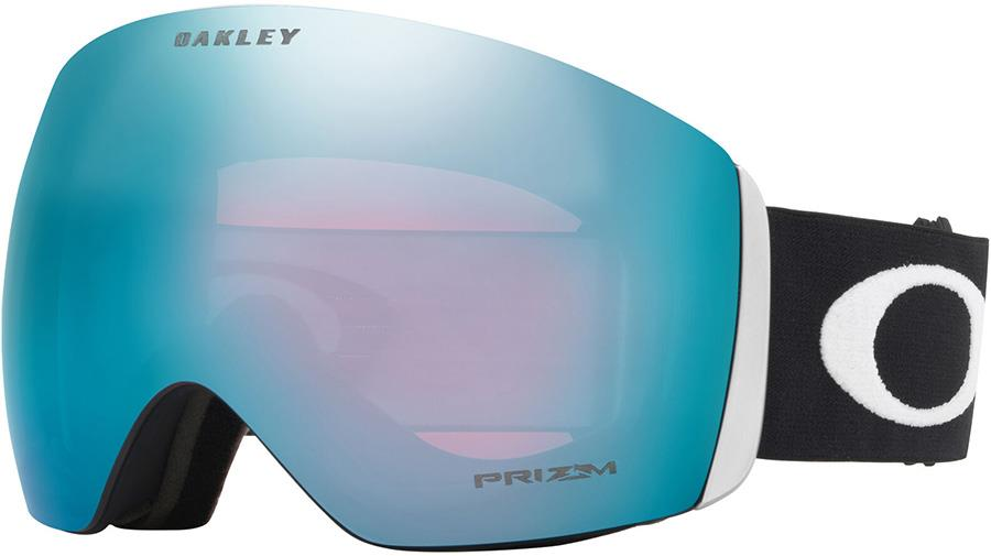 Oakley Flight Deck L Prizm Sapphire Snowboard/Ski Goggles, L Black