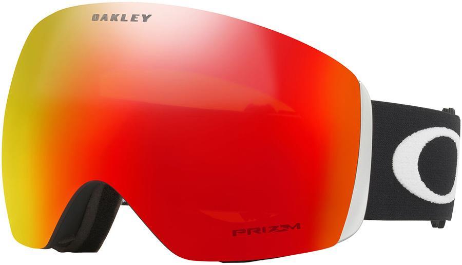 Oakley Flight Deck L Prizm Torch Snowboard/Ski Goggles, L Black