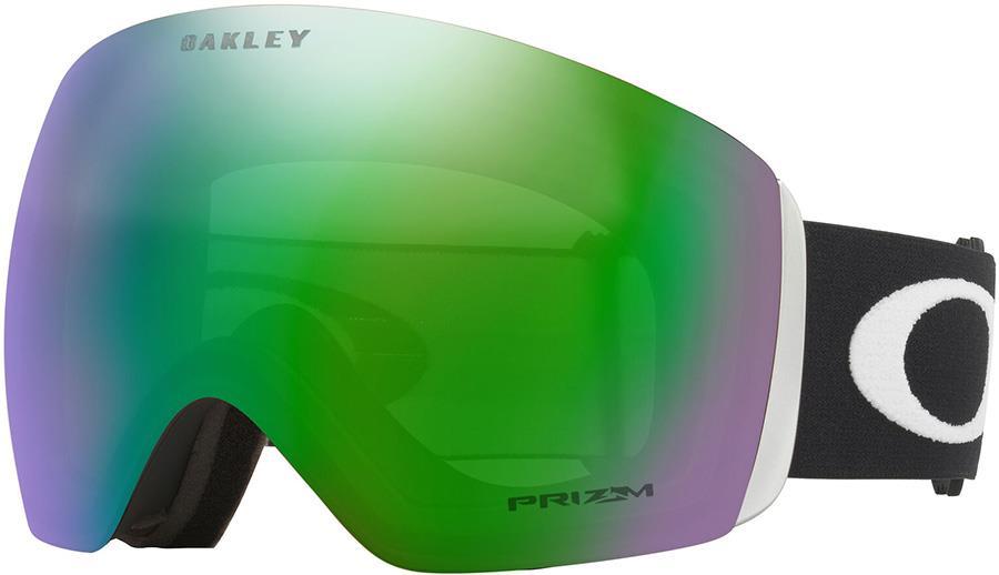 Oakley Flight Deck L Prizm Jade Snowboard/Ski Goggles, L Black