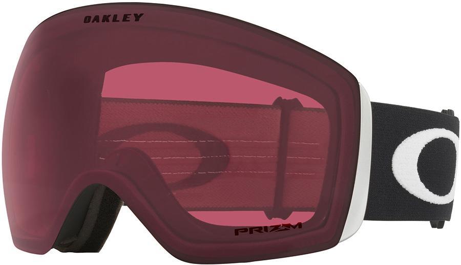 Oakley Flight Deck L Prizm Dark Grey Snowboard/Ski Goggles, L Black