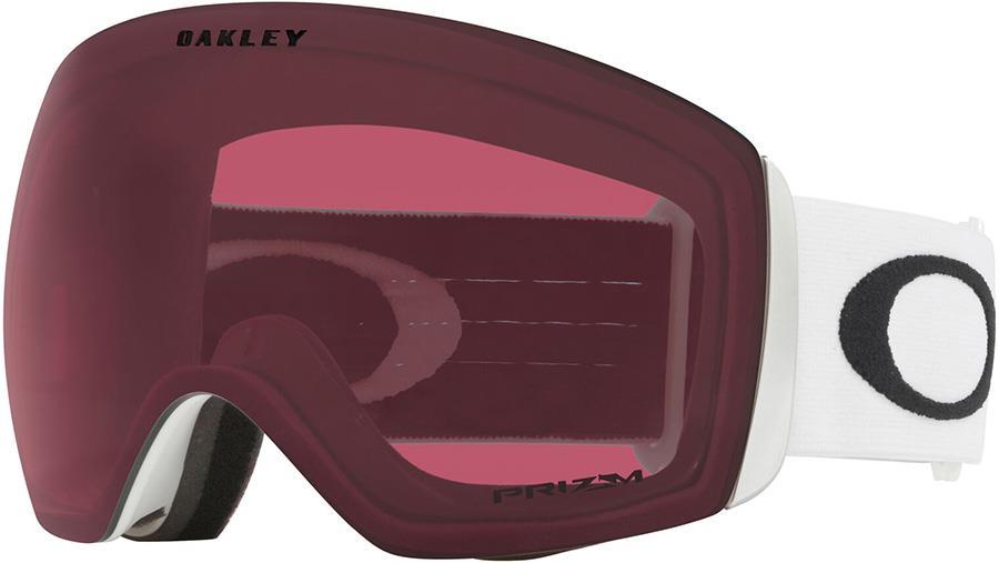 Oakley Flight Deck L Prizm Dark Grey Snowboard/Ski Goggles, L White