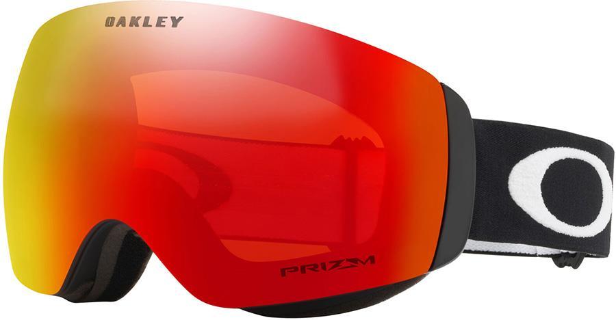 Oakley Flight Deck M Prizm Torch Snowboard/Ski Goggles, M Black