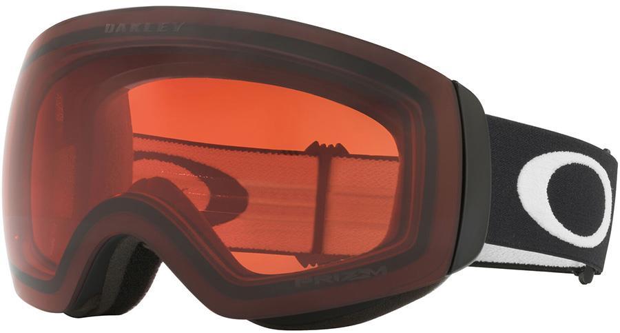 Oakley Flight Deck M Prizm Rose Snowboard/Ski Goggles, M Black