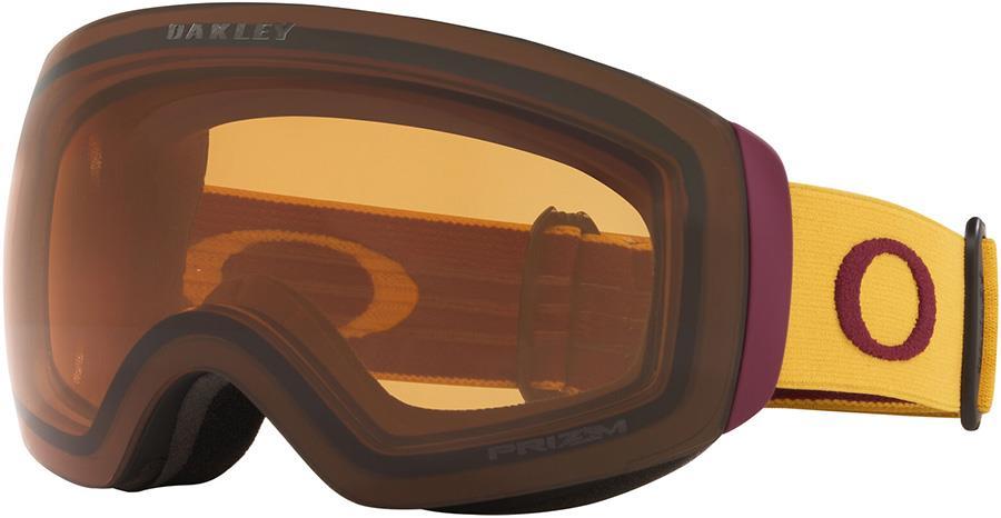 Oakley Flight Deck XM Prizm Persimmon Snowboard/Ski Goggles M Yellow
