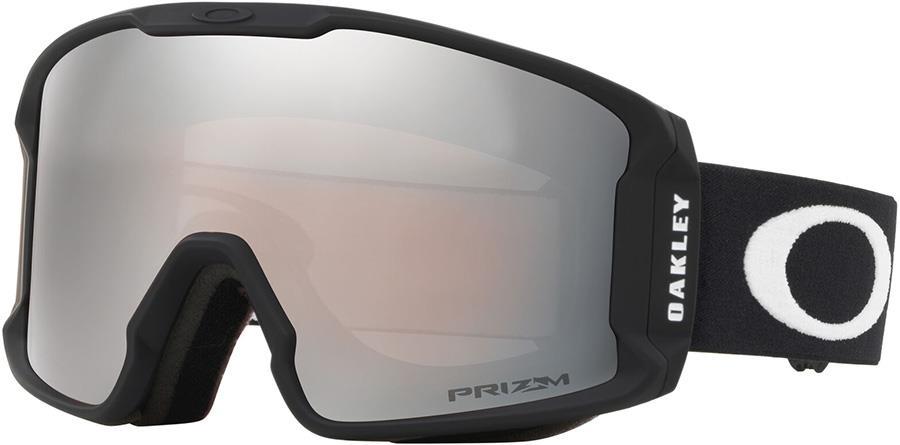 Oakley Line Miner M Prizm Black Snowboard/Ski Goggles, M Black