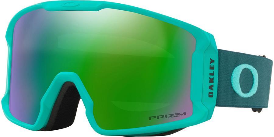 Oakley Line Miner M Prizm Jade Snowboard/Ski Goggles, M Celeste