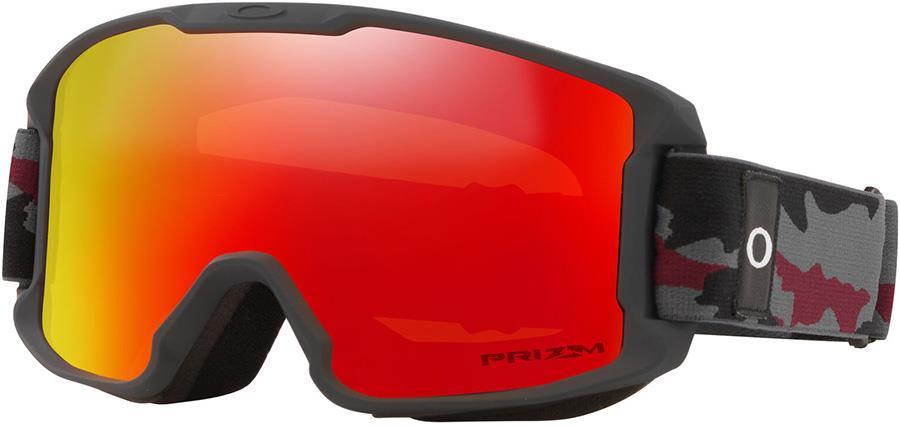 Oakley Line Miner Youth Prizm Torch Snowboard/Ski Goggles, S Camo