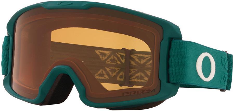Oakley Line Miner Youth Prizm Persimmon Snowboard/Ski Goggles S Icon