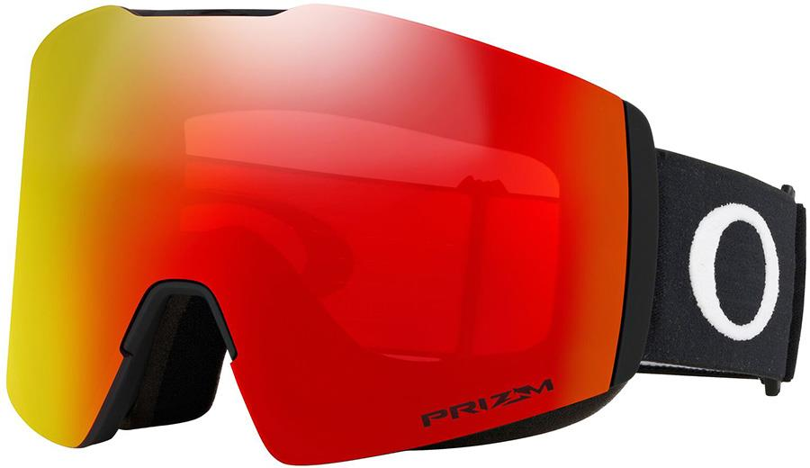 Oakley Fall Line L Prizm Torch Snowboard/Ski Goggles, L Black