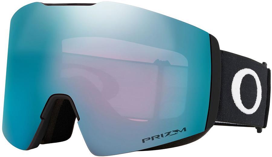 Oakley Fall Line L Prizm Sapphire Snowboard/Ski Goggles, L Black