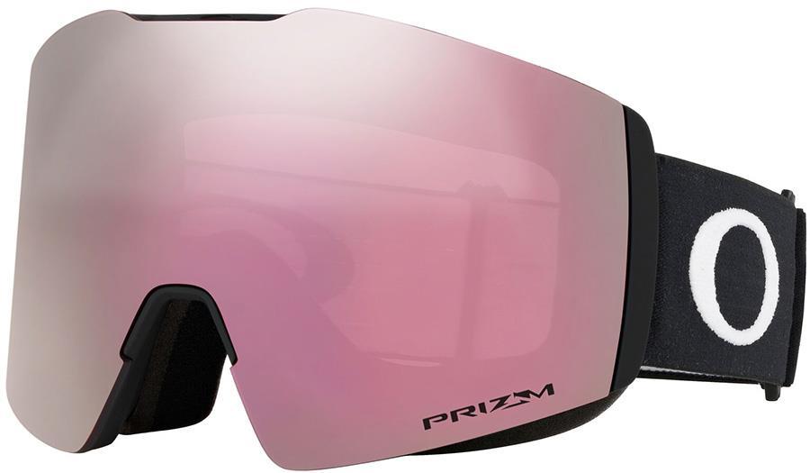 Oakley Fall Line XL Prizm Hi Pink Snowboard/Ski Goggles, L Black