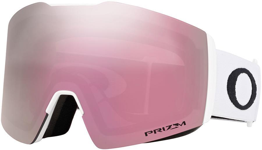 Oakley Fall Line L Prizm Hi Pink Snowboard/Ski Goggles, L White