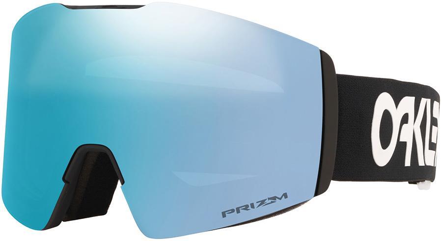 Oakley Fall Line L Prizm Sapphire Snowboard/Ski Goggles, L FP Black