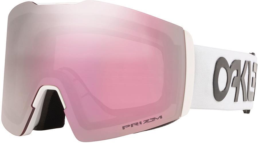 Oakley Fall Line L Prizm Hi Pink Snowboard/Ski Goggles, L FP White