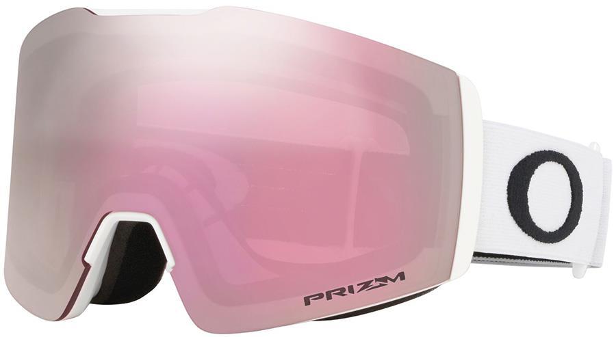 Oakley Fall Line M Prizm Hi Pink Snowboard/Ski Goggles, M White