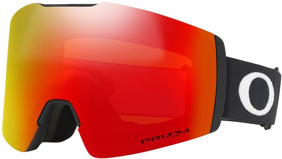 Oakley Fall Line M Prizm Torch Snowboard/Ski Goggles, M Black