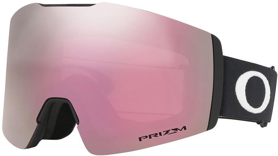 Oakley Fall Line M Prizm Hi Pink Snowboard/Ski Goggles, M Black
