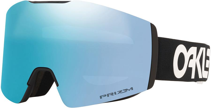 Oakley Fall Line M Prizm Sapphire Snowboard/Ski Goggles, M FP Black