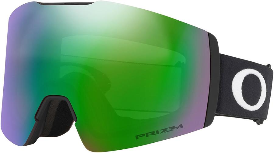 Oakley Fall Line M Prizm Jade Snowboard/Ski Goggles, M Black