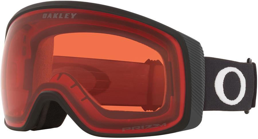 Oakley Flight Tracker M Prizm Rose Snowboard/Ski Goggles, M Black