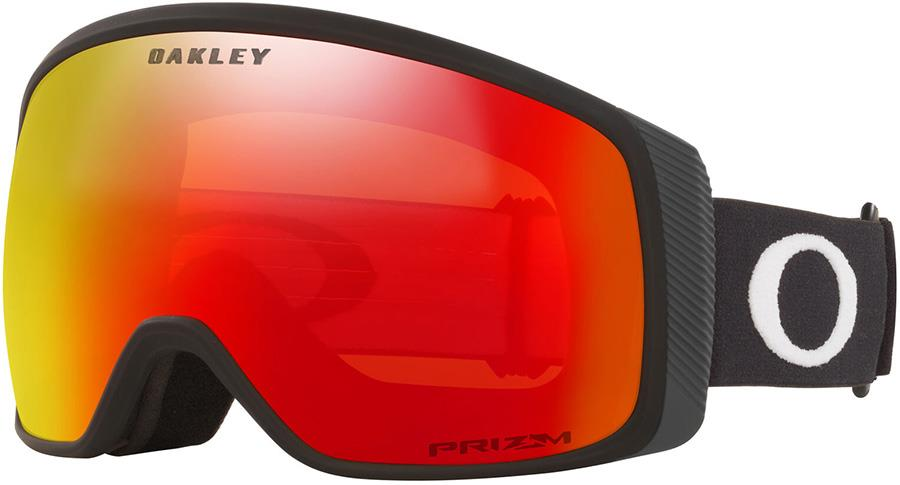 Oakley Flight Tracker M Prizm Torch Snowboard/Ski Goggles, M Black