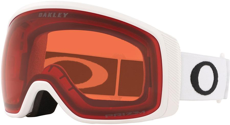 Oakley Flight Tracker M Prizm Rose Snowboard/Ski Goggles, M White