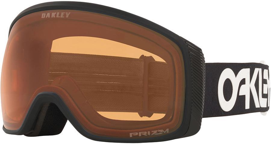 Oakley Flight Tracker M Persimmon Snowboard/Ski Goggles, M FP Black