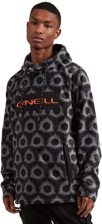 O'Neill O'Riginals Hooded Fleece Ski/Snowboard Hoodie, M Black AOP