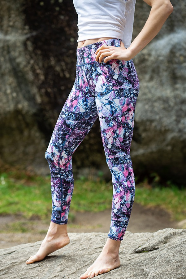 8b+ Hush Women's Climbing Leggings, XS Print