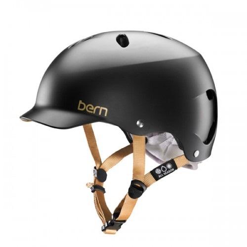Bern LENOX Ladies H2O Watersports Helmet, S Satin Black