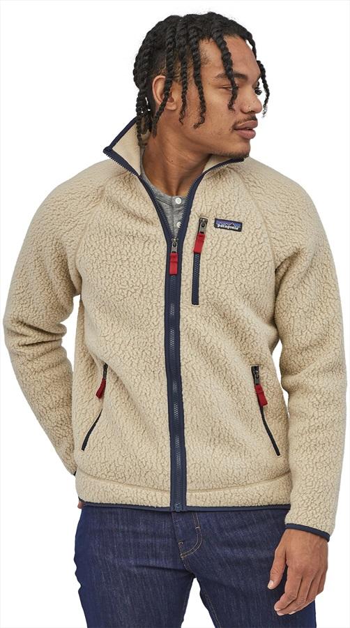 Patagonia Retro Pile Full Zip Fleece Jacket, S El Cap Khaki