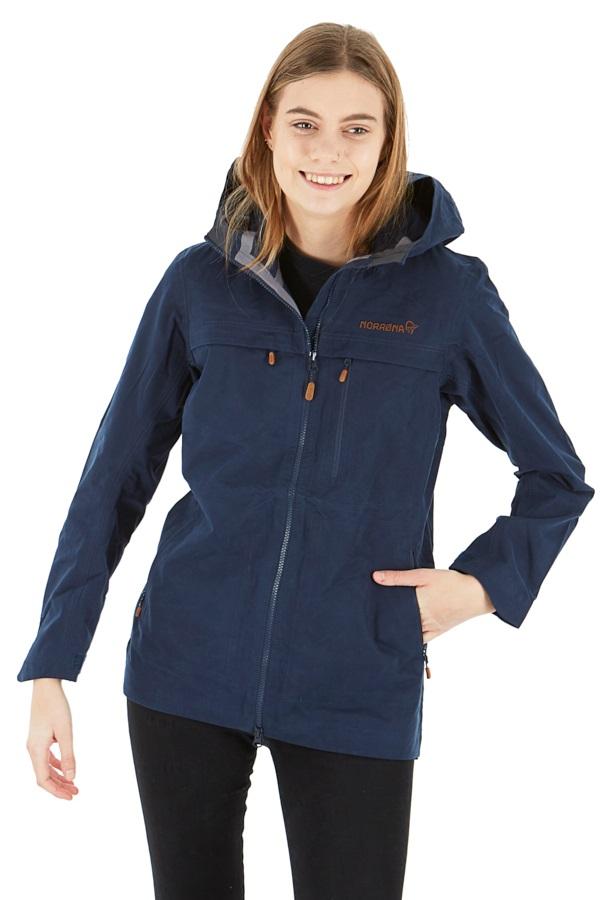 Norrona Svalbard Cotton Women's Windstopper Jacket, L Indigo Night