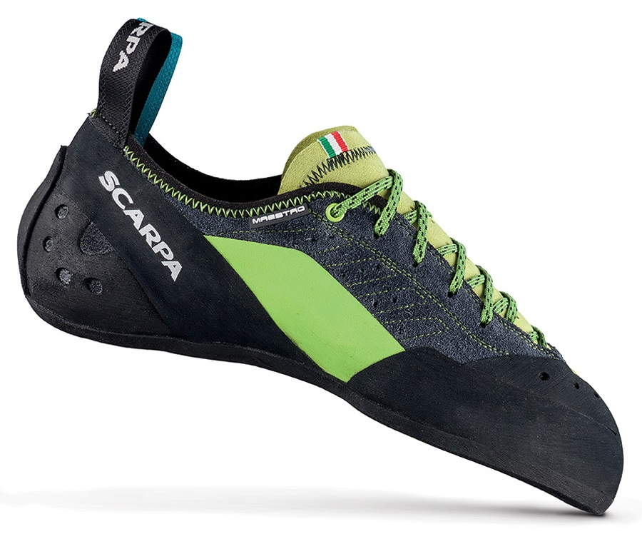 Scarpa Maestro Rock Climbing Shoe: UK 10.75 | EU 45.5, Ink