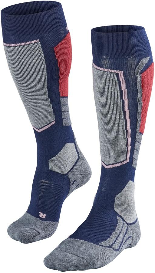 Falke SK2 Merino Wool Women's Ski Socks, UK 2.5-3.5 Dark Night