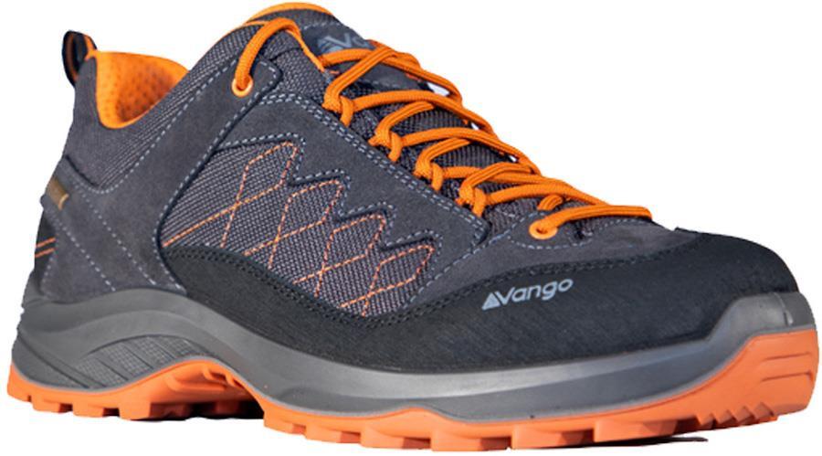 Vango Como Men's Waterproof Walking Shoes, UK 8 Graphite/Orange