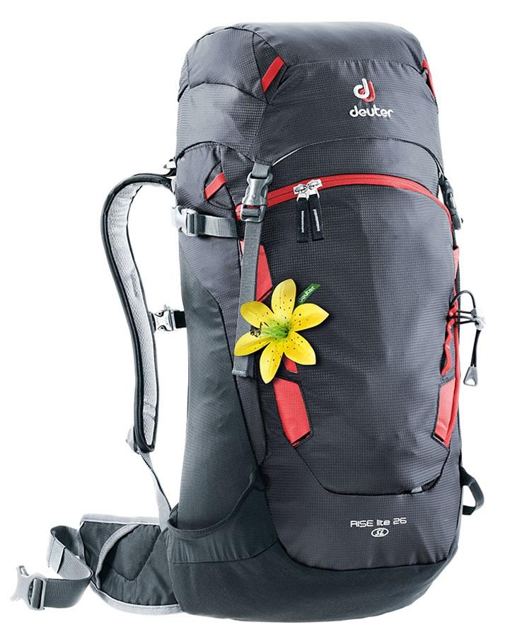deuter Rise Lite 26 SL Alpine Touring Backpack, 26L Graphite-Black