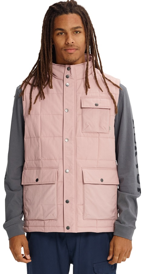 Burton Woodford Vest Insulated Gilet Body Warmer, M Fawn