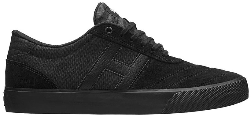 HUF Galaxy Skate Shoes, UK 11, Waxed Black