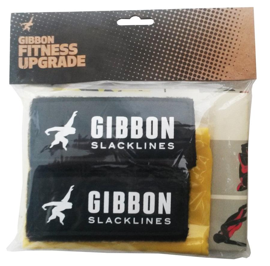 Gibbon Slackline Fitness Kit = Poster, 2 Hand Grips & Resistance Band