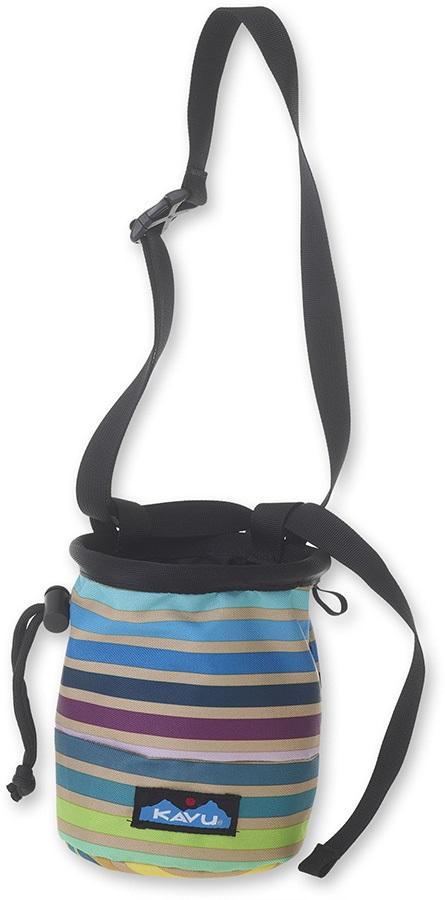 Kavu Peak Seeker Chalk Bag, Os Summer Stripe