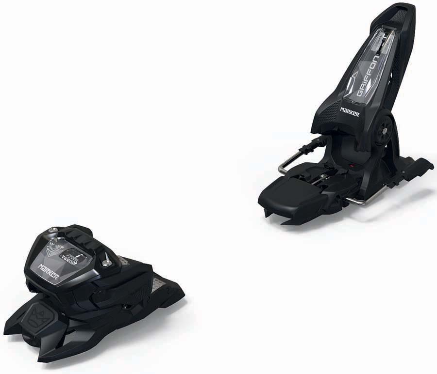 Marker Adult Unisex Griffon 13 Id Ski Bindings, 110mm Black