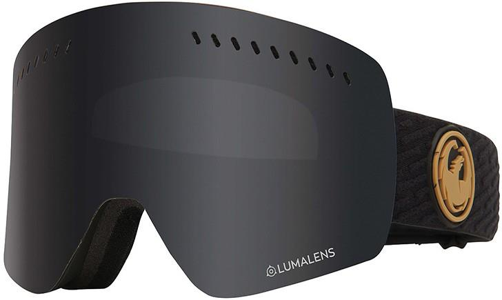 Dragon NFXs LumaLens Dark Smoke Snowboard/Ski Goggles, M PK Gumsole