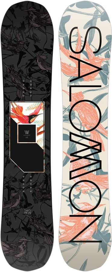 Salomon Wonder Women's Hybrid Camber Snowboard, 148cm 2020