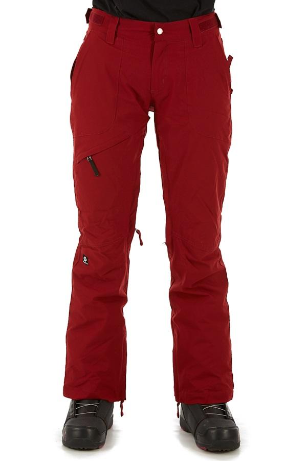 Nikita White Pine Stretch Women's Ski/Snowboard Pant, S Merlot