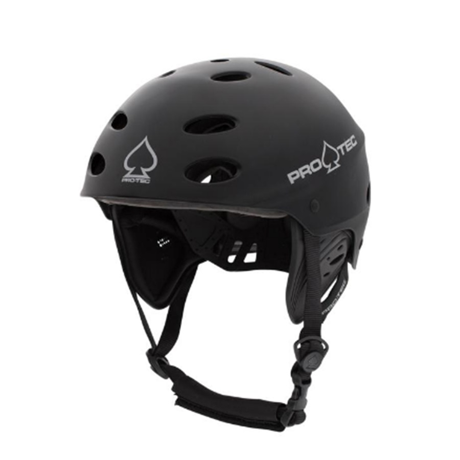 Pro-tec Ace Wake Watersport Helmet S Black Rubber