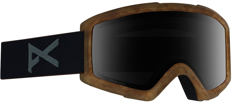 Anon Helix 2.0 Sonar Smoke Ski/Snowboard Goggles, S/M Tort
